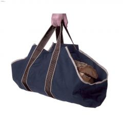 "27"" x 12\"" x 12\"" Blue Tote Log Carrier"