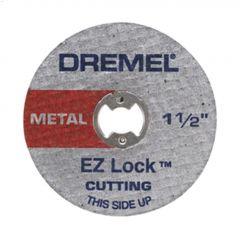 "EZ-Lock 1-1/2"" Red Cut-Off Wheel-5/Pack"