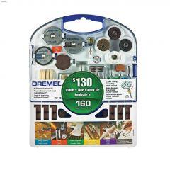 Blue 160 Piece All-Purpose Accessory Kit