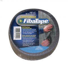 "Alkali-Resistant Cement Board Tape 2"" x 150'- Gray"