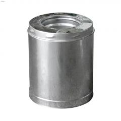 "6"" x 10"" x 18"" Stainless Steel Insulated Chimney Pipe"