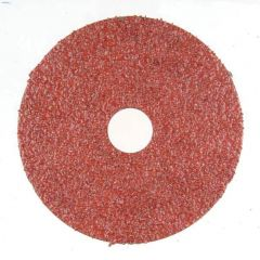 """4-1/2"""" 24 Grit Resin Bonded Fiber Sanding Disc-Bulk"""