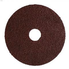 """4-1/2"""" 36 Grit Resin Bonded Fiber Sanding Disc-Bulk"""