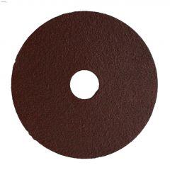 """4-1/2"""" 80 Grit Resin Bonded Fiber Sanding Disc-Bulk"""
