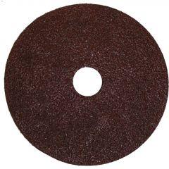 """5"""" 36 Grit Resin Bonded Fiber Sanding Disc-Bulk"""