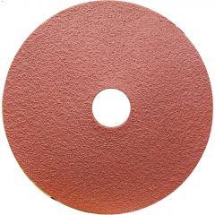 """5"""" 80 Grit Resin Bonded Fiber Sanding Disc-Bulk"""