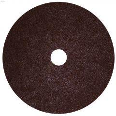 """7"""" 36 Grit Resin Bonded Fiber Sanding Disc-Bulk"""
