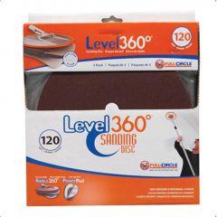 120 Grit Radius 360 Sanding Disc-5/Pack