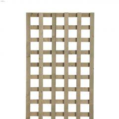 4' x 8' Pressure Treated Wood Jumbo Lattice