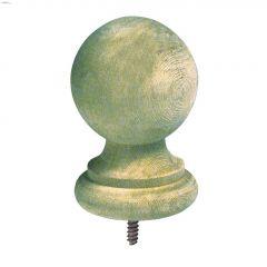 "5"" Pine Pressure Treated Colonial Post Cap"