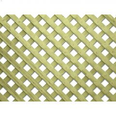 4' x 8' Pressure Treated Wood Privacy Lattice