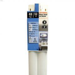 32 Watt G13 Medium Bipin T8 Fluorescent Bulb-2/Pack