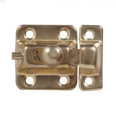 Brass Plated Surface Mount Cupboard Catch