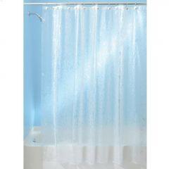 """72"""" x 72"""" Frost EVA Floret Shower Curtain"""