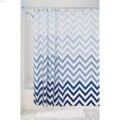 """72"""" x 72"""" Blue - Multicolour Ombre Shower Curtain"""