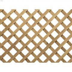 4' x 8' Pressure Treated Wood Regular Lattice