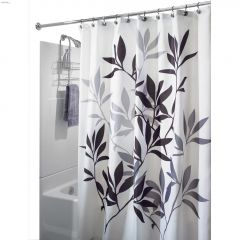 """72\"""" x 72\"""" Polyester Leaves Shower Curtain"""