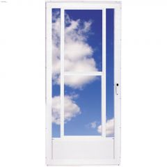 "32"" x 80"" Northern 3 Lite Midview Storm Door"