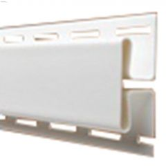 """3/4"""" x 12' H Channel Frost White"""