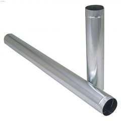"6"" x 60"" Galvanized 30 ga. Pipe"