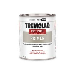 Tremclad 946 mL Can Flat Galvanized White Rust Primer