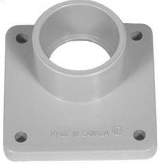 "2"" PVC Gray Meter Socket Hub"