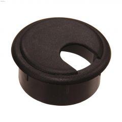 """1-3/4"""" Opening Gray Plastic Desk Grommet-1/Pack"""