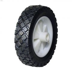 "1/2"" X 6"" x 1-1/2"" Plastic Hub Replacement Wheel"