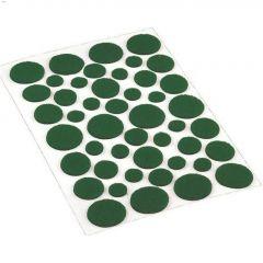 Surface Gard Green Self-Adhesive Assorted Felt Pad