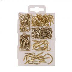 Brass Hooks & Wire Goods Kit