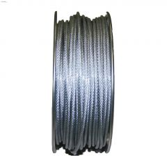 "3/32 - 1/8"" x 250' Galvanized Coated Cable"