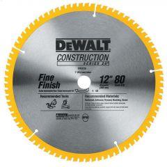 "Large Dia Construction Saw Blade 12"" x 0.069"" 80 Teeth"