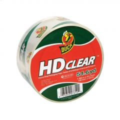 """54.6 yd x 1.88"""" Clear Packaging Tape"""