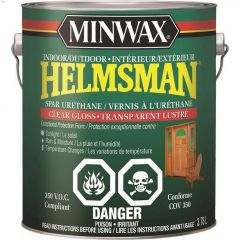 Helmsman 3.78 L Gloss Clear Spar Urethane Protective Finish
