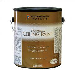 3.78 L Flat White Latex Ceiling Paint