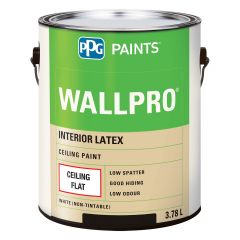 WallPro 3.78 L Interior Flat White Ceiling Paint