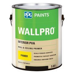 WallPro 3.78 L Interior White Wall & Ceiling Primer