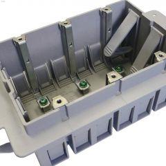 Inexo Gray PVC 3-Gang ICF Outlet Box