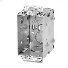 "2"" x 3"" x 2-1/2"" Metal Single Gang Device Box"