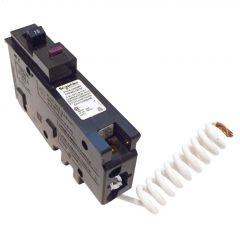 1 Pole 15A Plug-On Dual Function Circuit Breaker