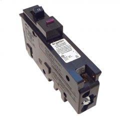 1 Pole 15A Plug-On Neutral Dual Function Circuit Breaker
