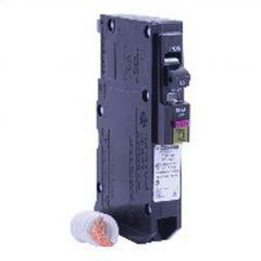 1 Pole 15A Plug-In Dual Function Circuit Breaker