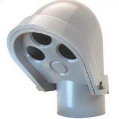 "1-1/4"" PVC Gray Service Entrance Head Cap"