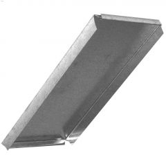 "8"" x 8"" Galvanized 30 ga. Blind End Cap"
