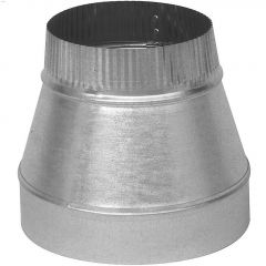 "4 - 3"" Galvanized 30 ga. Short Reducer"