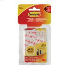 Command Assorted Clear Refill Strip