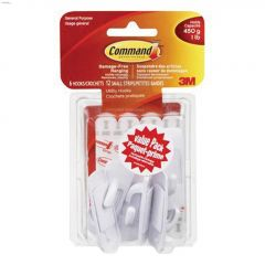 Command White Small Utility Hook