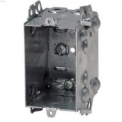 "2"" x 3"" x 2-1/2"" Rugged Metallic LHU Single Gang Device Box"
