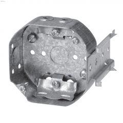 "4"" x 1-1/2"" Rugged Metallic LB Octagon Device Box"