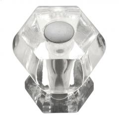 "1-3/16"" Crysacrylic Crystal Palace Cabinet Knob"